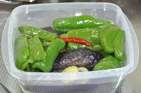 without-eggplant-green-pepper