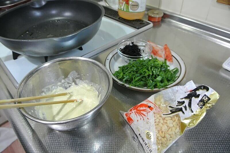 chijimi-leek-cooking-1