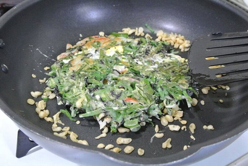 chijimi-leek-cooking-5