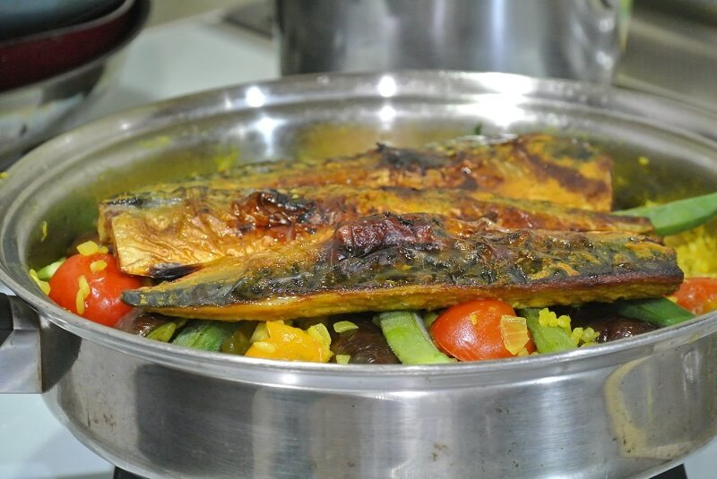 grilled-salt-mackerel-salad-recipe-18